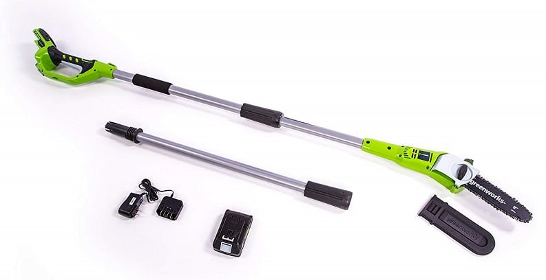 Greenworks 8.3' 24V Best Cordless Pole Saw