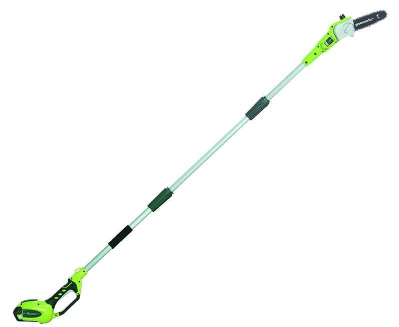 Greenworks 8.5' 40V Cordless Pole Saw Reviews