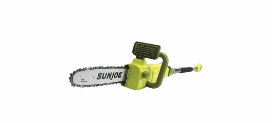 Sun Joe SWJ807E 10 inch 8.0 Amp Electric Convertible Pole Chain Saw Reviews