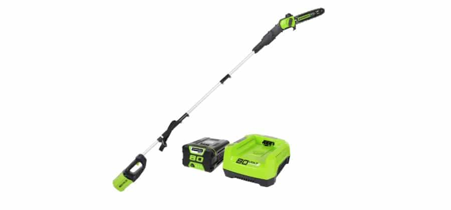 Greenworks PRO 10 80V battery powered Pole Saw Reviews