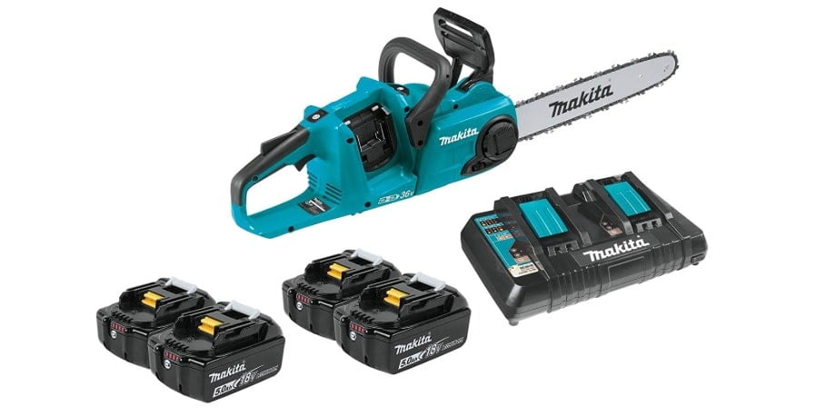 Makita XCU03PT1 18V X2 (36V) LXT Lithium-Ion Brushless Cordless 14 Chain Saw Reviews