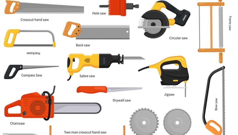 Different Types of Hand Saws